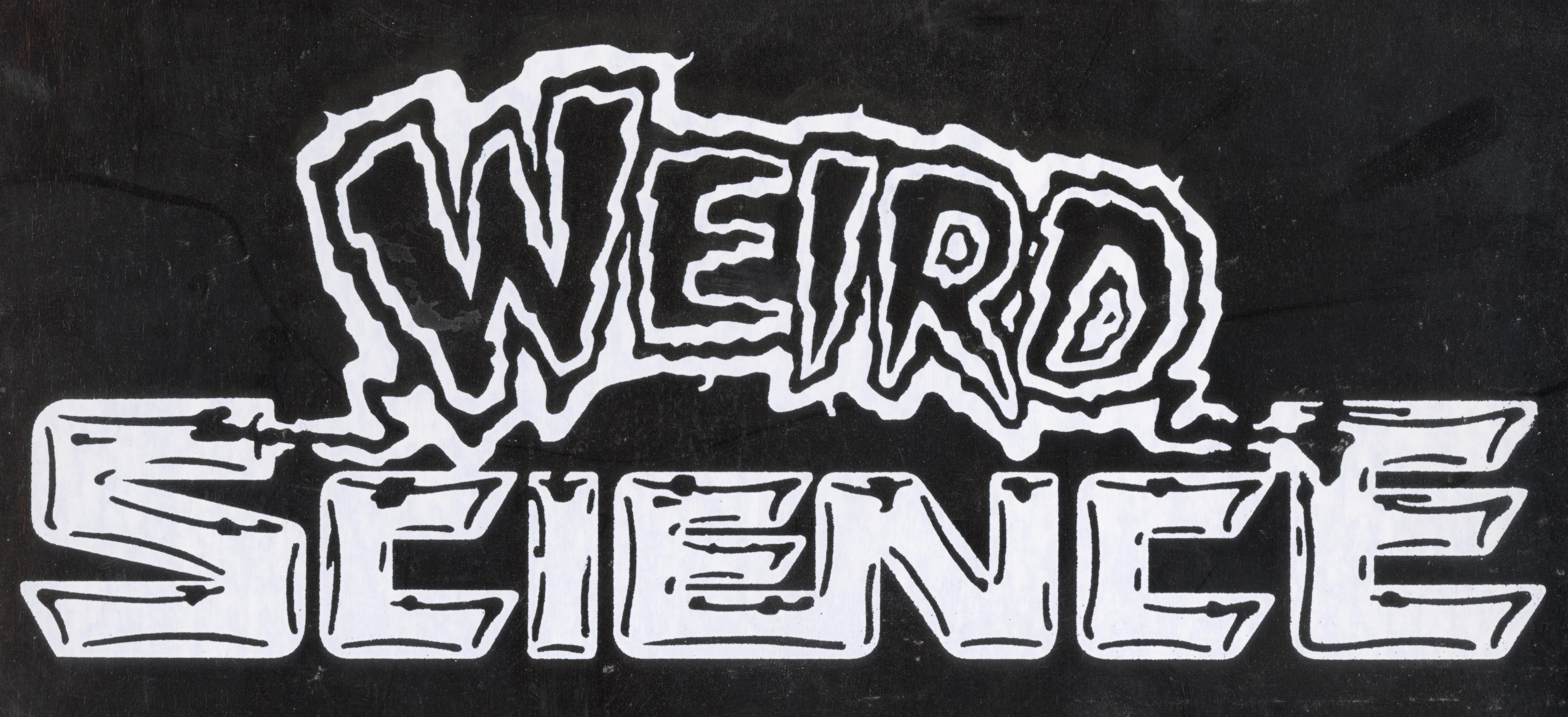 Weird Science show card.